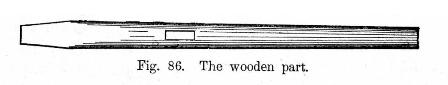 The wooden part fig 86